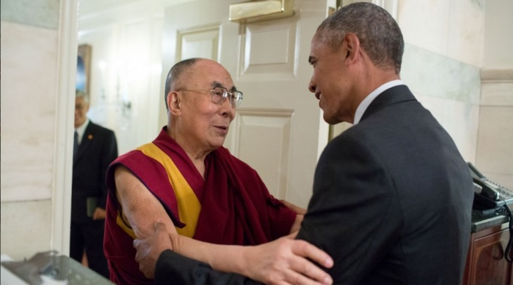 L'incontro tra Il Presidente Barack Obama ed il Dalai Lama