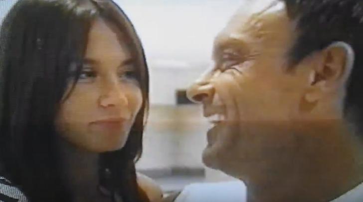 Simona Mattioli e Totò Schillaci