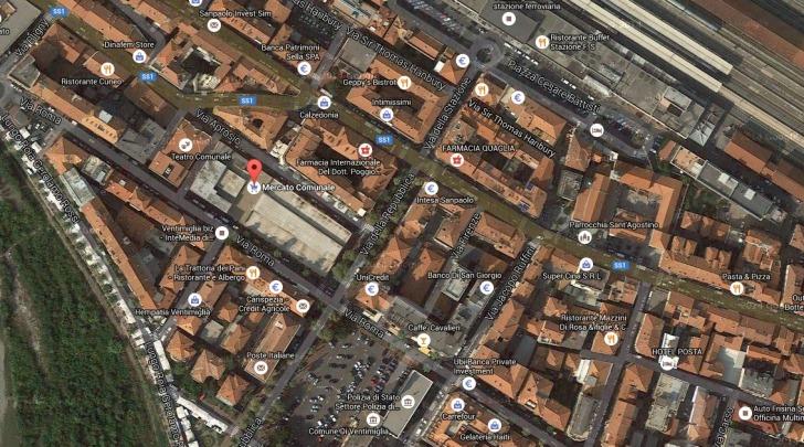 Ventimiglia, Chiuso al traffico corso Repubblica - tra via Roma e via Cavour