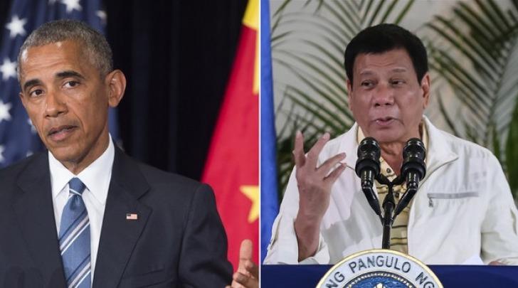 Barack Obama - Rodrigo Duterte