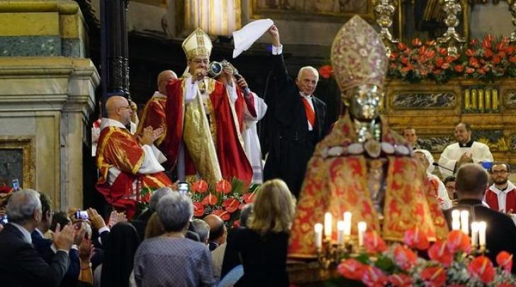 Il miracolo sangue San Gennaro