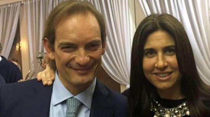 il dermatologo Matteo Cagnoni con la moglie Giulia Ballestri
