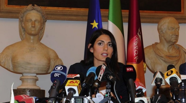 Virginia Raggi - foto facebook