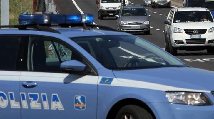 Polizia in autostrada - foto di repertorio