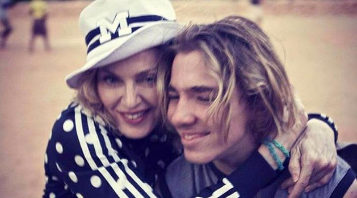 Madonna ed il figlio Rocco Ritchie - foto da instagram