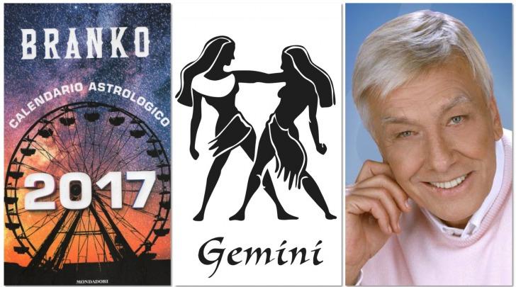GEMELLI - Oroscopo 2017 Branko