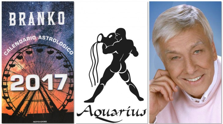ACQUARIO - Oroscopo 2017 Branko