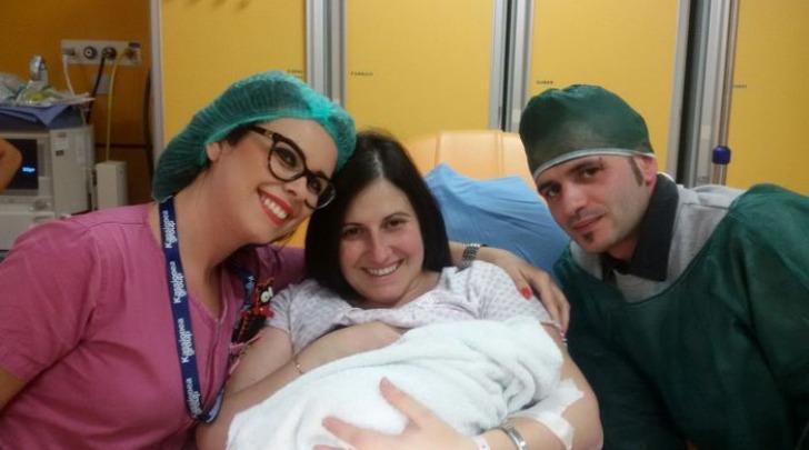 E' sarda la prima nata in Italia nel 2017