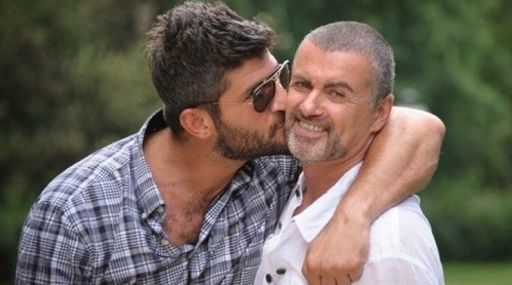 Fadi Fawaz e George Michael - foto da twitter
