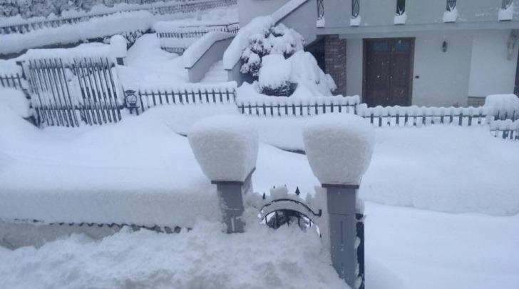 Maltempo Montereale - foto da facebook