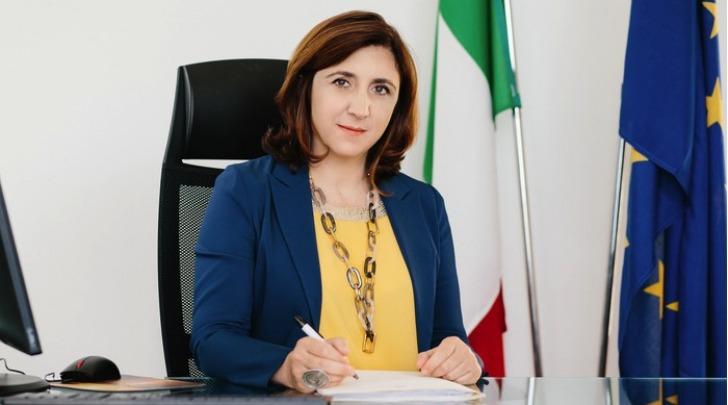 Filomena Albano - Foto da www.garanteinfanzia.org