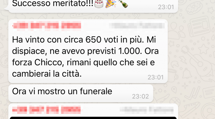 Foto gruppo Whatsapp Di Benedetto