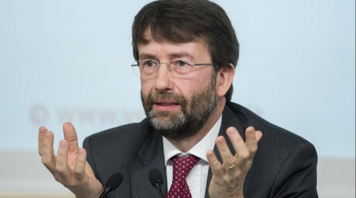 il ministro della Cultura, Dario Franceschini