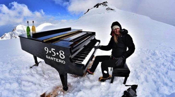 Elisa Tomellini, la genovese pianista e alpinista