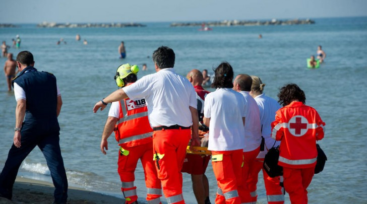 soccorsi spiaggia