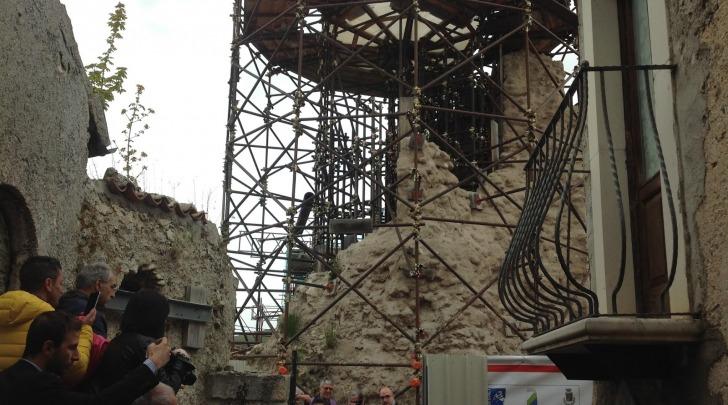 prima pietra ricostruzione torre medicea