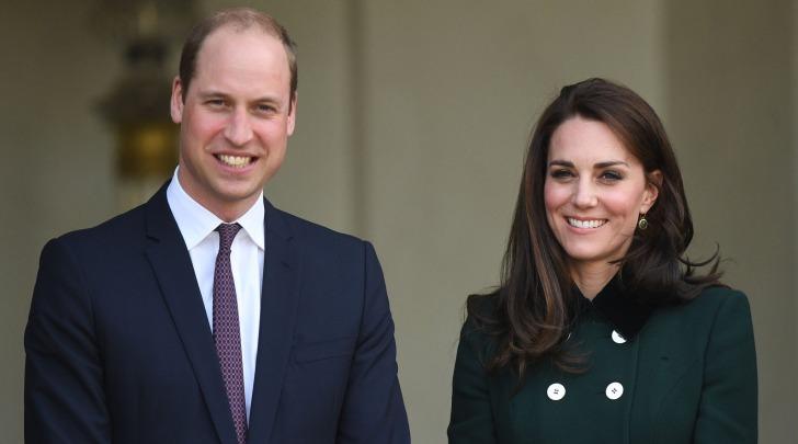 Il principe William e la moglie Kate