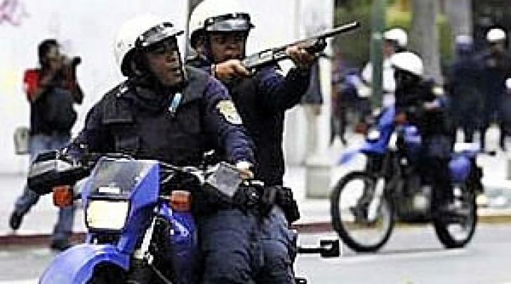 Polizia metropolitana Caracas