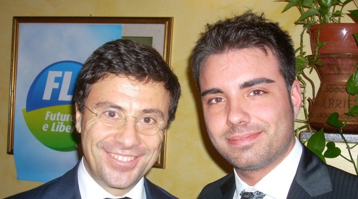 Italo Bocchino e Giuseppe La Rana