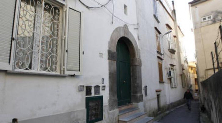 La casa di Schettino (foto Ansa)