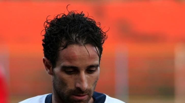 Marco Capparella, l'autore del secondo gol rossoblù