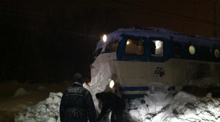 Treno bloccato a Tagliacozzo