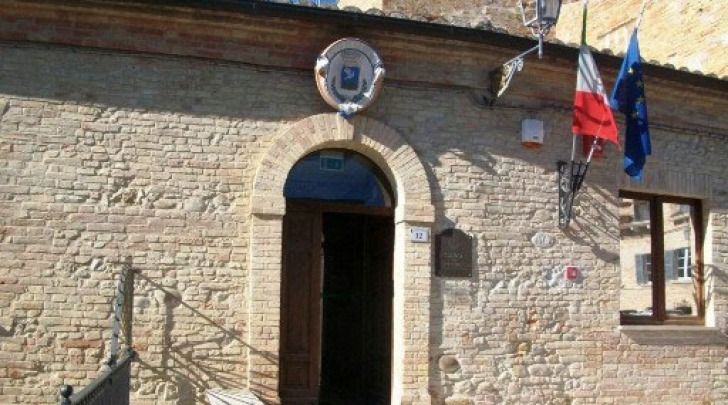 La sede del Comune di Tortoreto