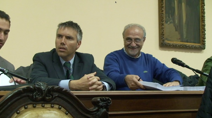 Da sinistra Giuseppe Bernardi e Angelo Mancini