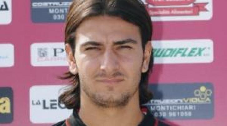 L'attaccante del Celano, Antonio Croce