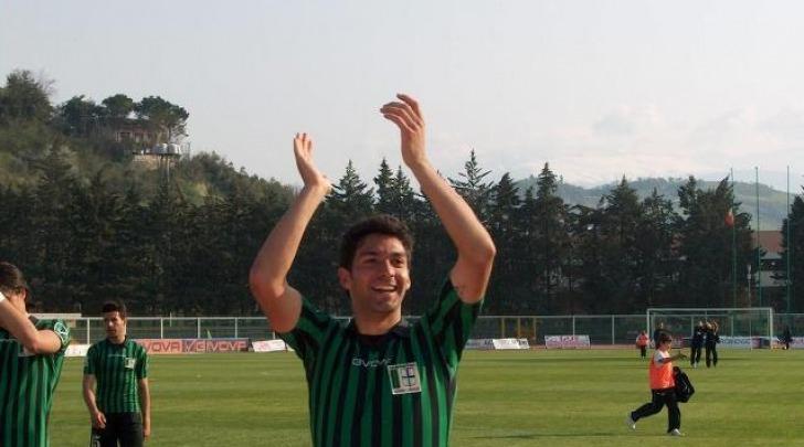 Lorenzo Del Pinto, suo il gol che ha dato il via alla vittoria sulla Paganese