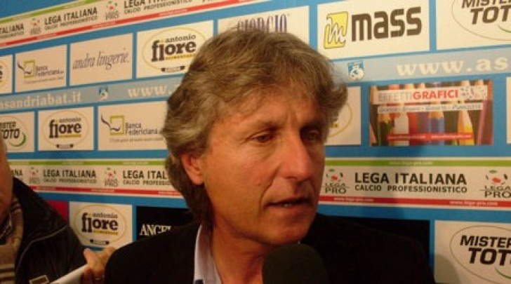 Il neo tecnico rossoblù, Aldo Papagni