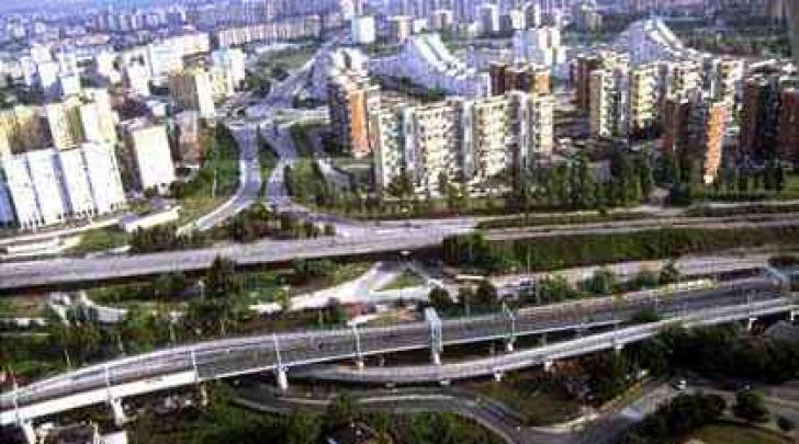 Veduta aerea di Scampia