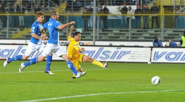 Marco Sansovini, autore del primo gol