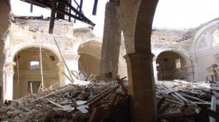 La Basilica di Collemaggio all'indomani del sisma