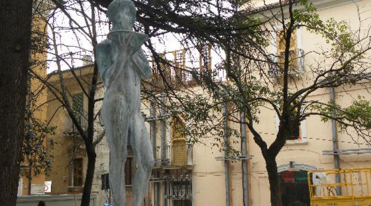 Piazza IX martiri su cui affaccia Palazzo Pica