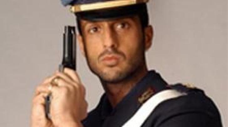 Fabrizio Corona poliziotto
