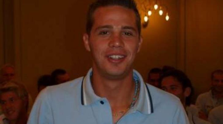 Matteo Perelli, attaccante in prova coi rossoblù