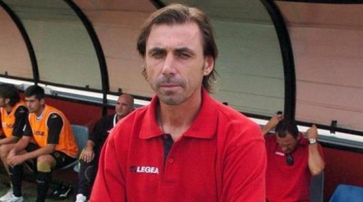 Il tecnico rossonero Carmine Gautieri