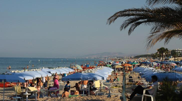 Spiaggia di Alba Adriatica (Te)