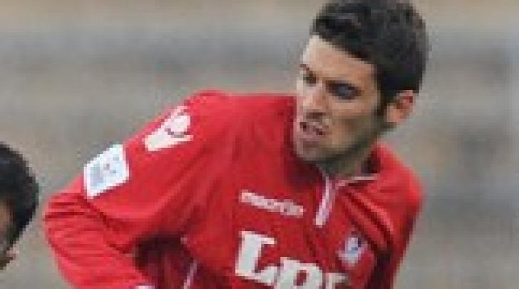 Fabio Foglia con la maglia del Piacenza