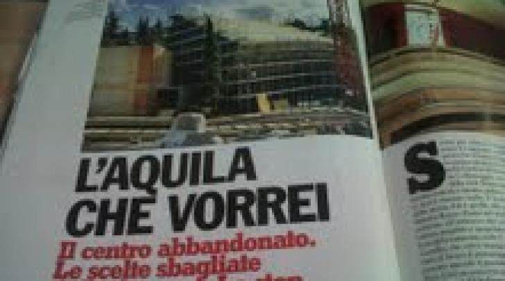 La prima pagina dell'articolo di Enrico Arosio