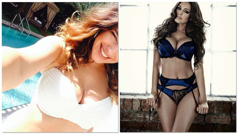 Kelly Brook Abusa Di Photoshop Le Forme Burrose