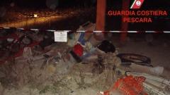 Guardia Costiera-sequestro discarica
