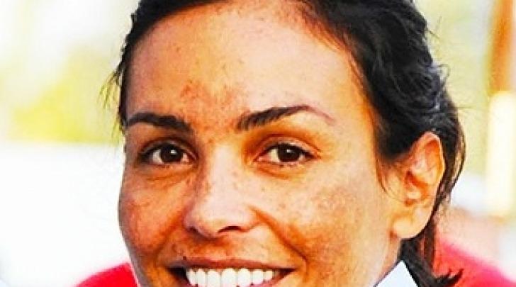 Inés Sastre al torneo di polo